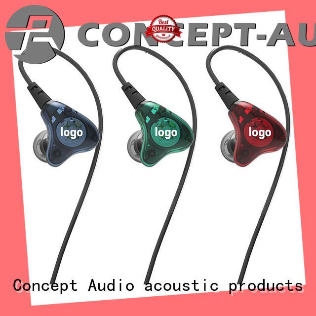 Concept Audio black universal earphones series for sport