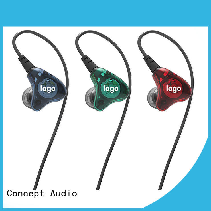 Concept Audio silicone universal fit earphones hot sale for sport