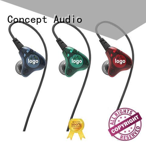 Universal fit in-ear stereo earphone series