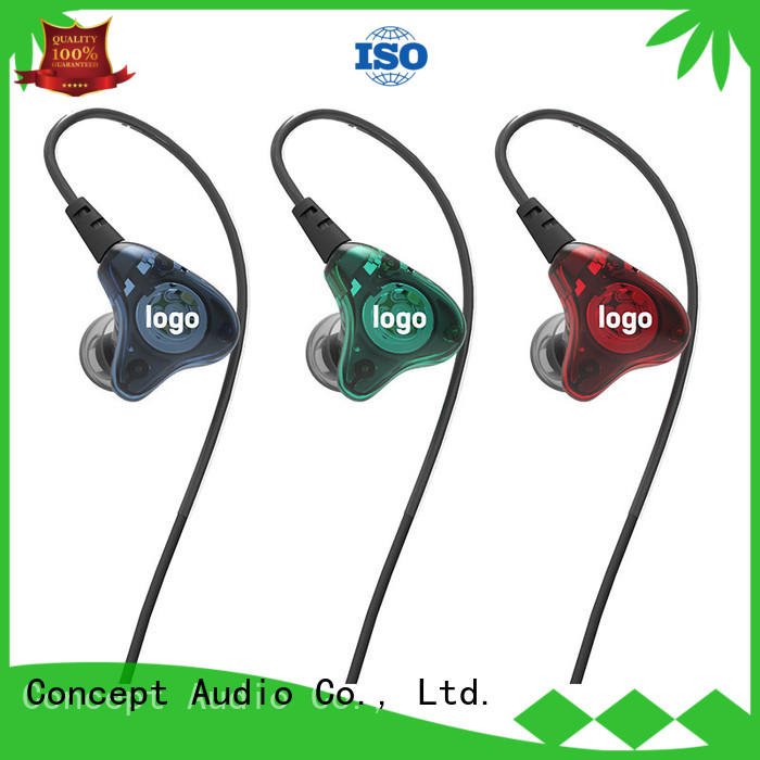Concept Audio universal over ear headphones with mic for sport