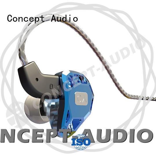 Concept Audio iem headphones with mic for sport