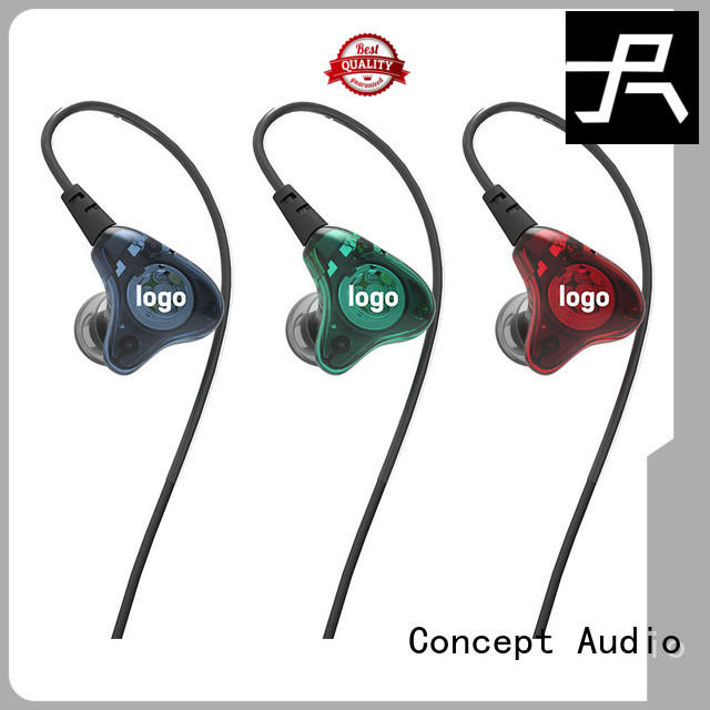 Universal fit in-ear stereo earphone series