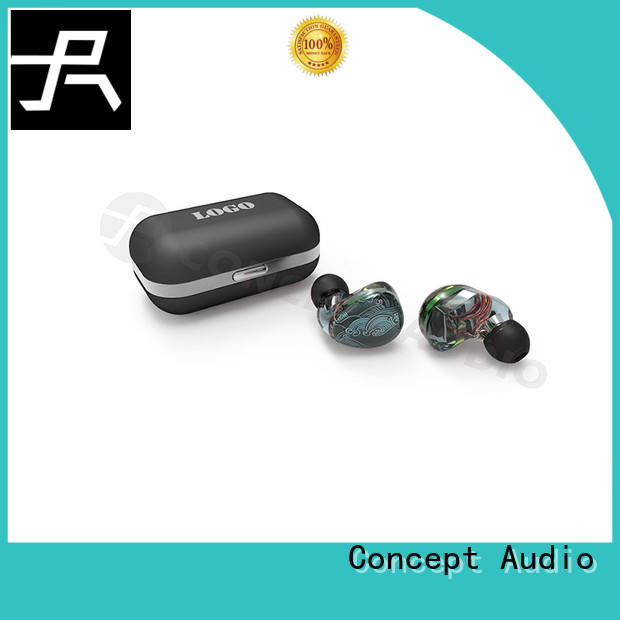 Concept Audio noise cancelling wired earphone high quality for sport