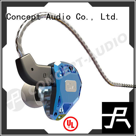 Concept Audio Brand hifi custom fit earbuds iem supplier