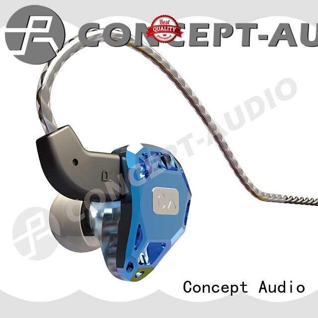 universal fit in ear headphones high quality for sport Concept Audio