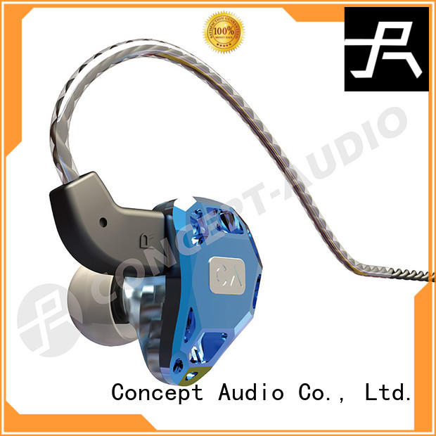 Wholesale comfortable headset iem headphones Concept Audio Brand