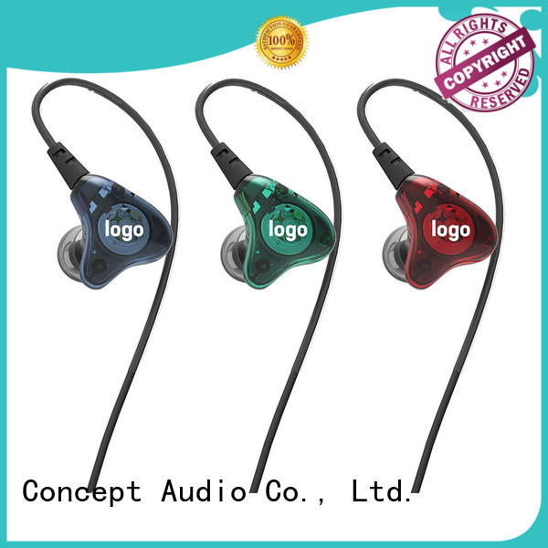Concept Audio high quality custom fit earphones design for sale