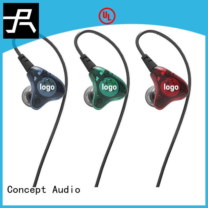 Concept Audio custom iem headphones supplier for sport