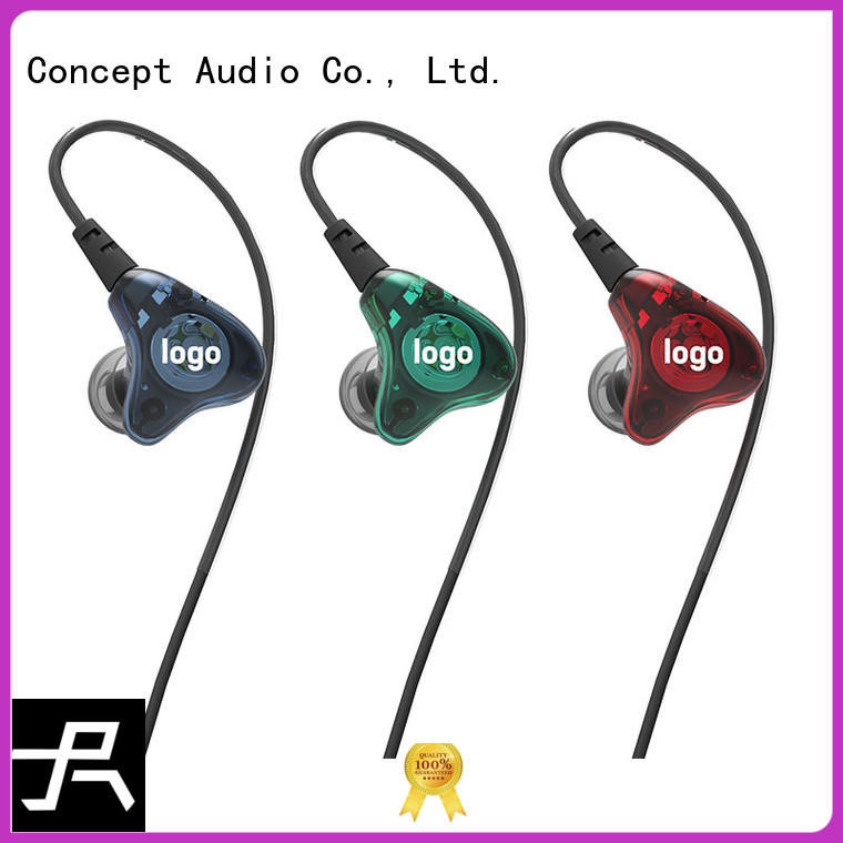 high quality custom fit earphones series for sport Concept Audio