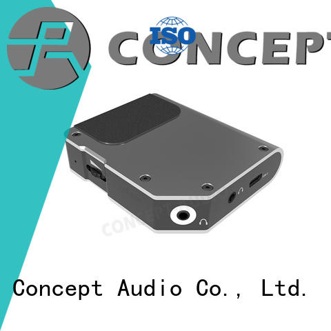 Concept Audio copper mini media player with usb dac for mobile phone