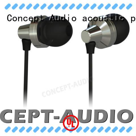New Arrival Metal In-Ear Music Earphone Sport Headset Sweatproof  Noiseproof