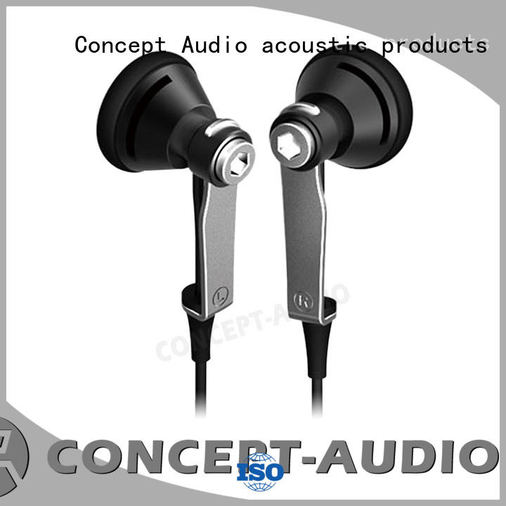 Custom light bluetooth wired earphone Concept Audio wear