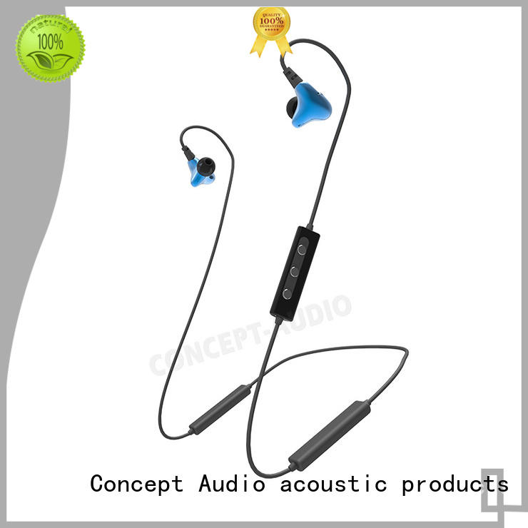 Concept Audio stereo bluetooth headset sport with mic for listening music