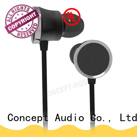 Concept Audio Metal Wired Earphones with special housing design for gift
