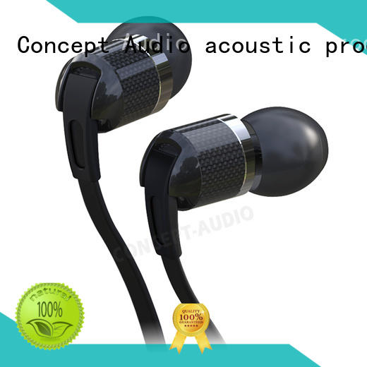 Concept Audio attractive Metal Wired Earphones monitor for sport