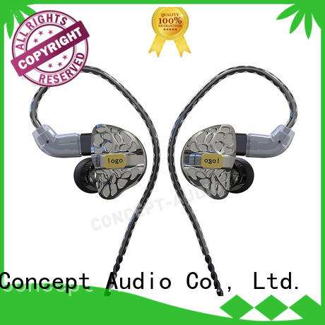 Concept Audio Brand earphone sports comfortable custom custom fit earbuds