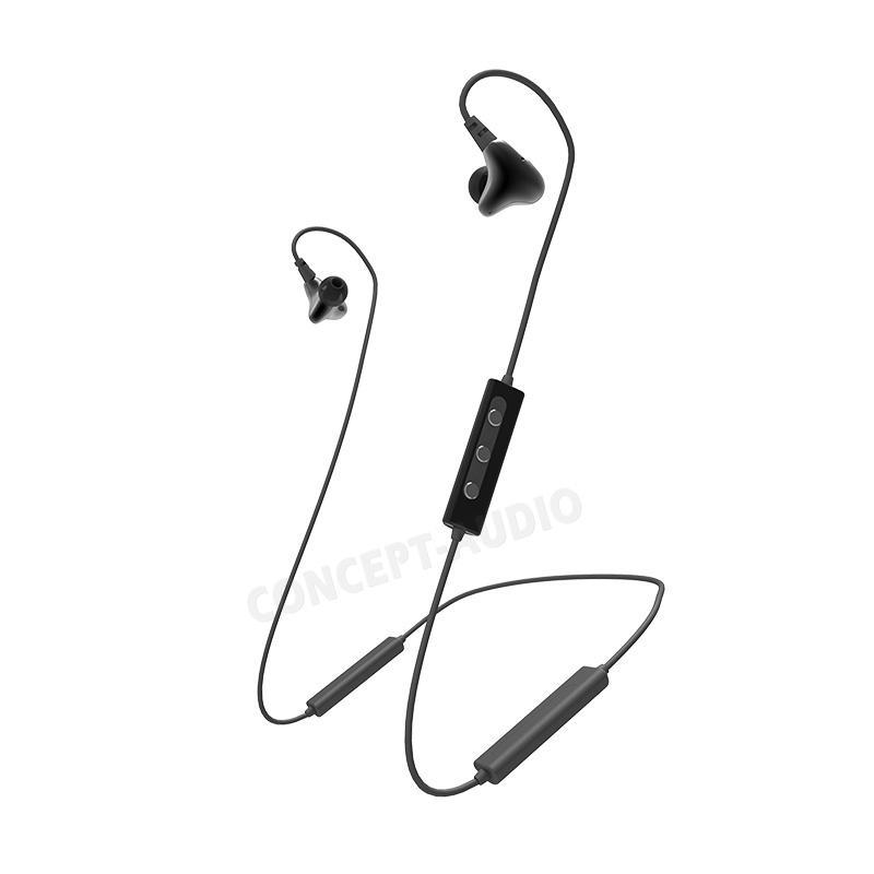 Stereo Wireless Bluetooth Earphone With Mic