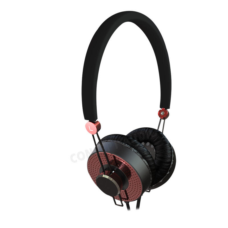 Active Noise Cancelling On-Ear Stereo Headphones