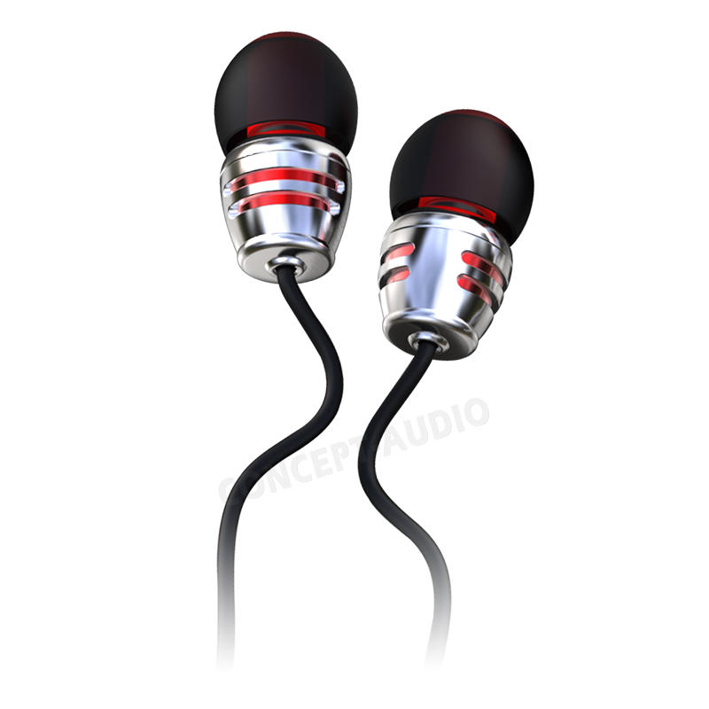 Fashionable Electronics Protable Aluminum Housing Earphone
