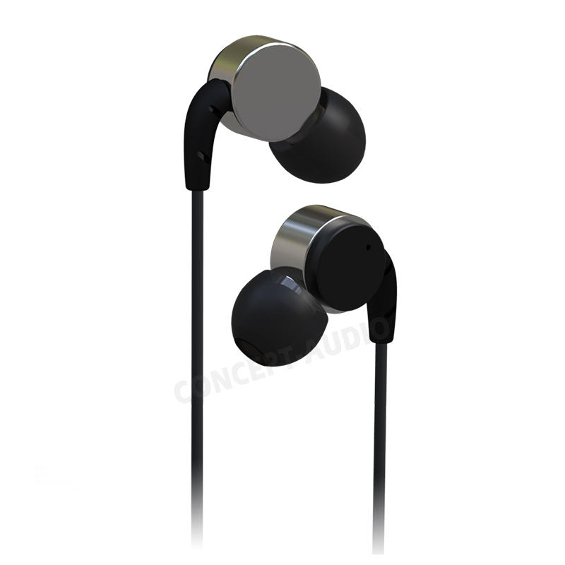 OEM/ODM High Quality Metal Housing Earphone With An Angle