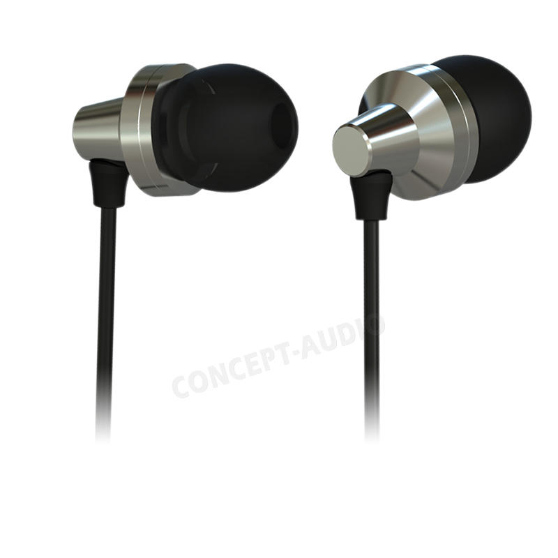 New Arrival Metal In-Ear Music Earphone Sport Headset Sweatproof  Noiseproof