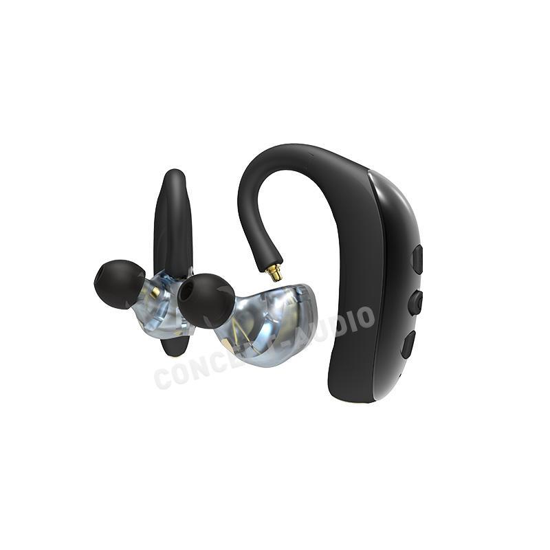 Sweatproof Waterproof Noise Cancelling TWS Earhook Bluetooth Earphone