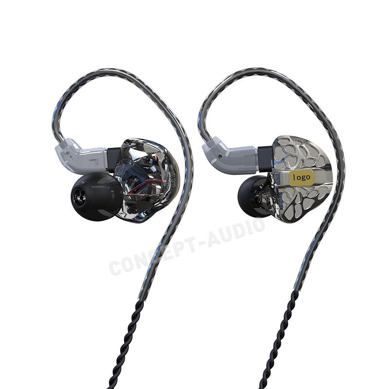 Semi Custom In-Ear-Monitor Earphone with Universal Fit Design