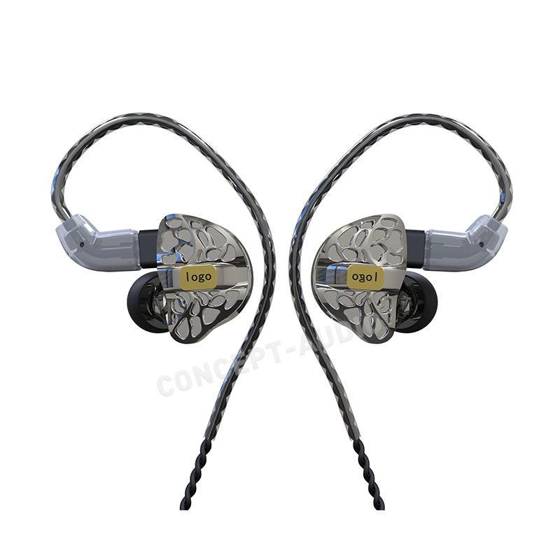 Semi Custom In-Ear-Monitor Earphone with Universal Fit Design