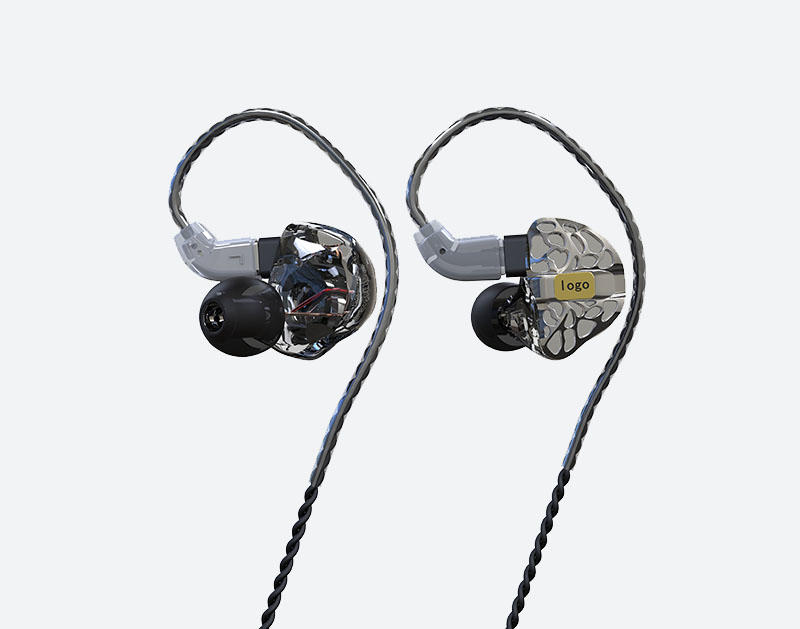Concept Audio iem universal branded headphones in ear monitor for sport