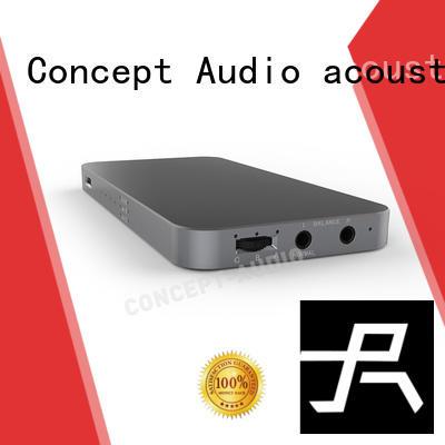 mini headphone amp decoder lightweight Concept Audio company