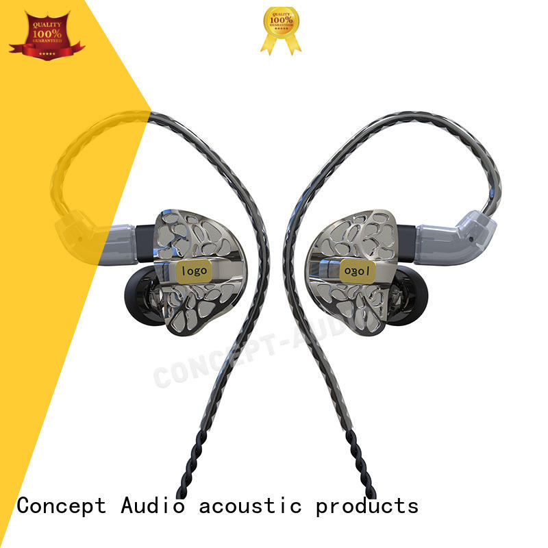 universal Custom waterproof comfortable iem headphones Concept Audio hifi
