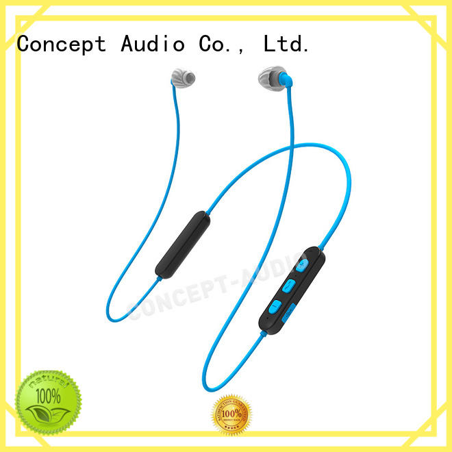 Quality Concept Audio Brand dynamic sweatproof bluetooth headset sport