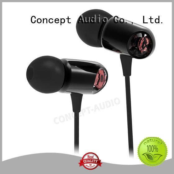 Concept Audio Brand inear detachable earphone light supplier
