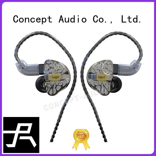 custom fit earbuds waterproof earphone comfortable Concept Audio Brand company