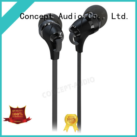 Quality Concept Audio Brand hifi comfortable wired earphone