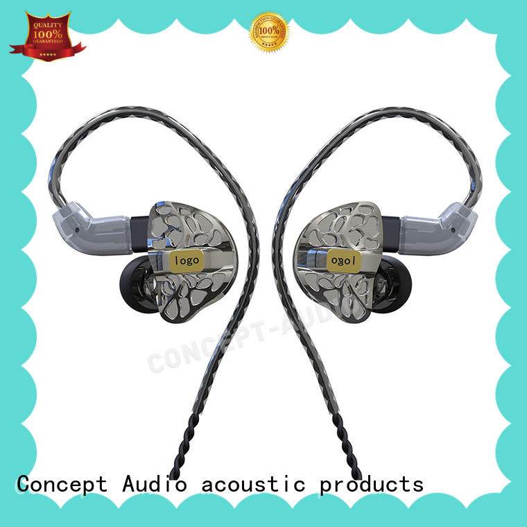 hot sale iem headphones with three dimensional printing for sport Concept Audio