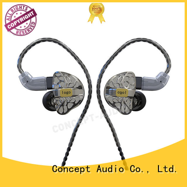 Concept Audio Brand earphone hifi custom fit earbuds comfortable