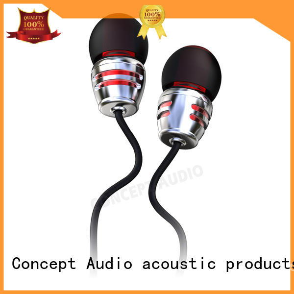 bluetooth wired earphone sports light Concept Audio company