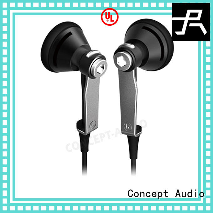 stereo earhook Concept Audio Brand travel headphones