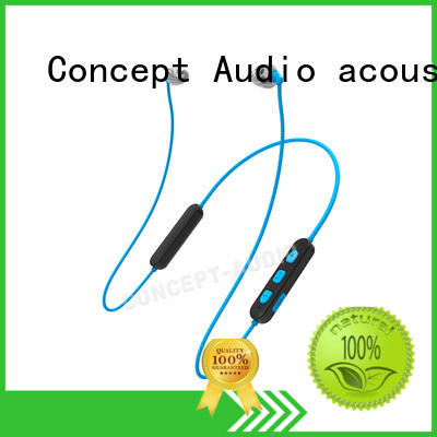 inear Custom waterproof silicone wired earphone Concept Audio wear