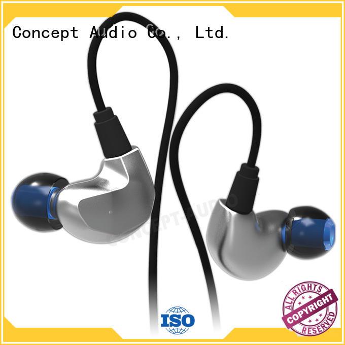 wear waterproof bluetooth Concept Audio Brand detachable earphone manufacture