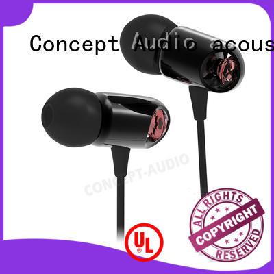 detachable earphone light waterproof wired earphone hifi company