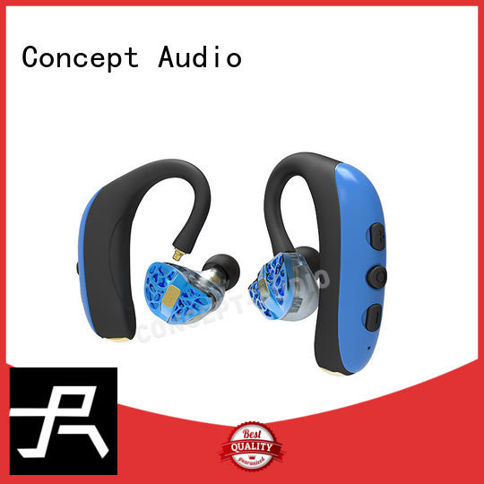 custom fit bluetooth earbuds sport stereo Concept Audio Brand bluetooth headset sport
