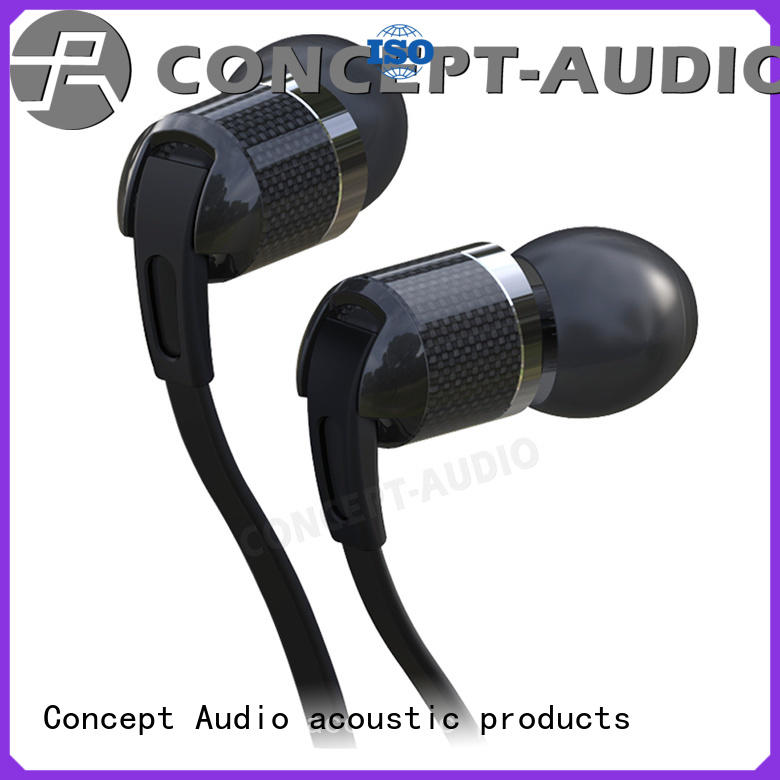 quality special cheap custom earphones Concept Audio manufacture