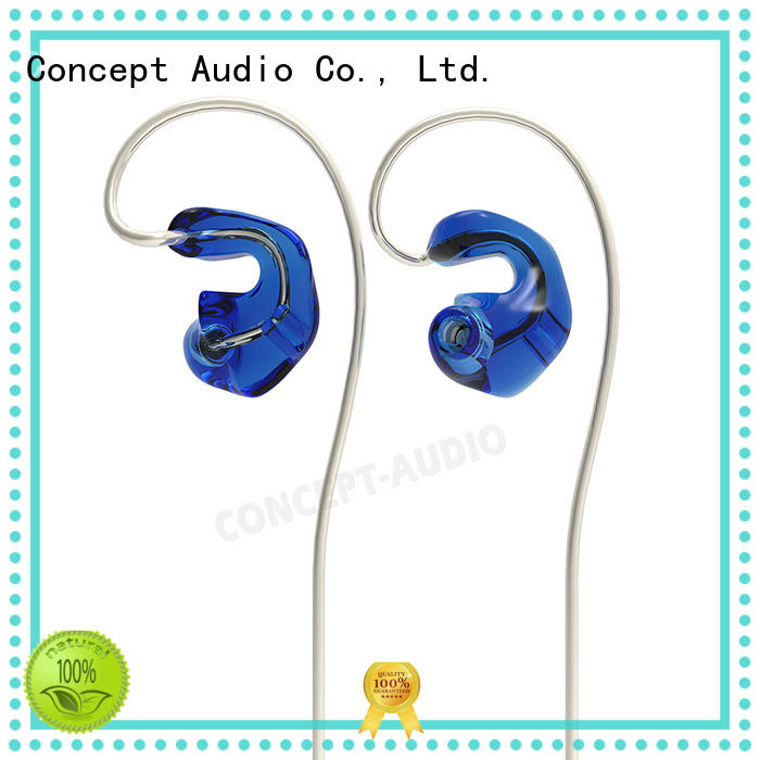 detachable earphone waterproof wear Concept Audio Brand company