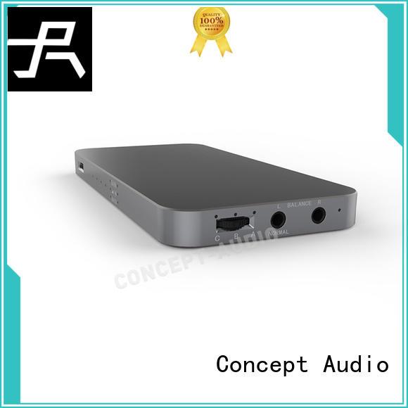 lightweight high resistance best headphone amplifier Concept Audio Brand