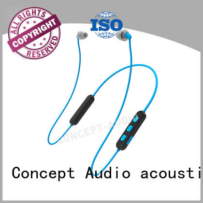Wholesale cancelling custom fit bluetooth earbuds Concept Audio Brand