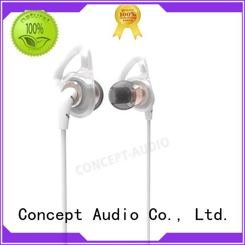bluetooth silicone wear detachable earphone Concept Audio Brand