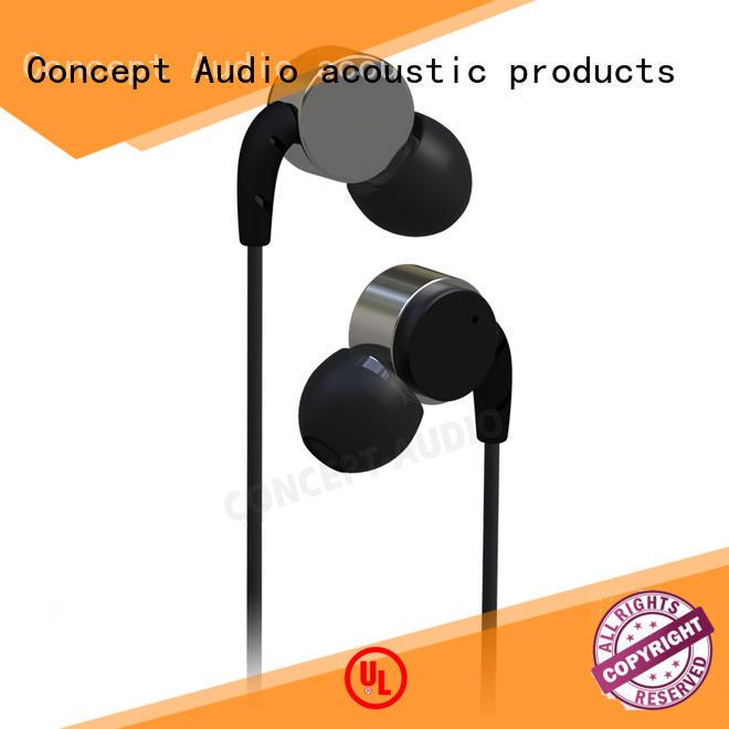 sports waterproof bluetooth Concept Audio Brand detachable earphone manufacture