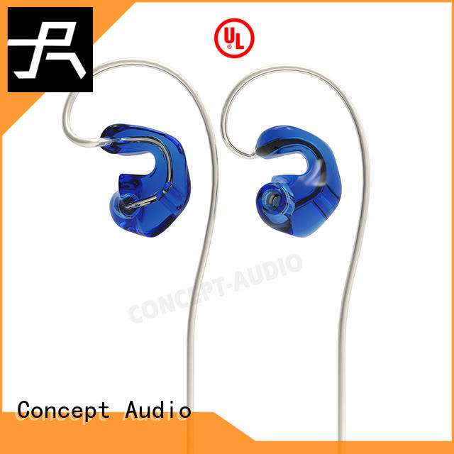 iem headphones with three dimensional printing for sport
